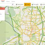 bing maps tráfico tiempo real